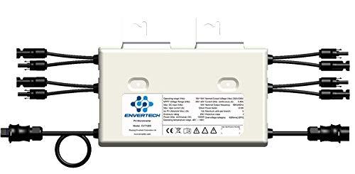Envertech SEEYES Microinverter EVT1200 - Convertidor modular con conector Betteri BC01