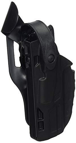 Safariland 7360 ALS/SLS, Level 3 Retention Duty Holster, Mid Ride, Fits: H&K VP9 - Black - STX Plain, Left Hand