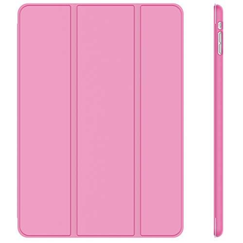 JETech Hülle Kompatibel iPad Mini 1 2 3, Schutzhülle mit Ständer Funktion und Auto Einschlafen/Aufwachen (Rosa)