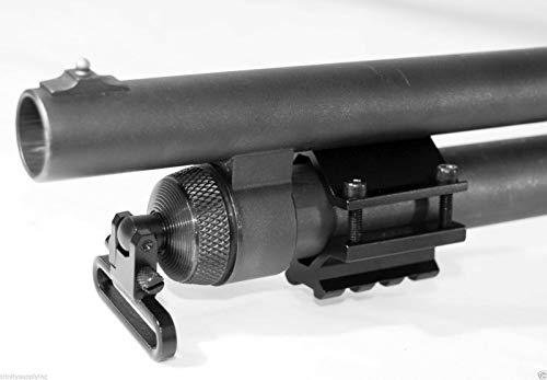 TRINITY Picatinny Weaver Aluminum Black Tactical Hunting Optics Single Rail Mount for Stevens 320