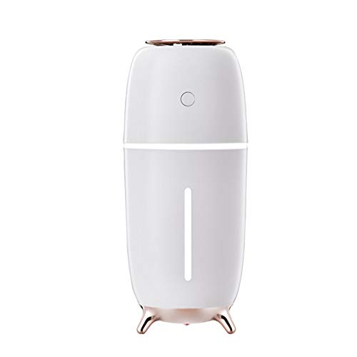 CarJTY Portable Cool Mist Humidifier,Mini USB Car Humidifier Air Purifier with Night light, Adjustable Mist Modes for Home, Bedroom, Baby Room, Car, Yoga, Office, Travel
