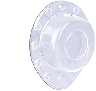 ONINAA Bathtub Overflow Drain Cover Plug, Drain Stopper for Deep Water Abysmal Baths, 12 Strong Suction Cups Keep Water i...