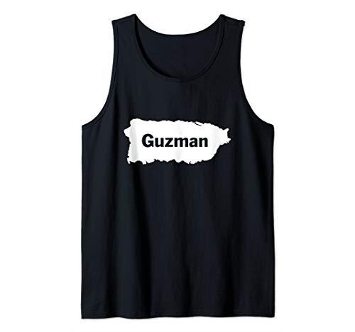 Guzman Last Name, Camisas de Puerto Rico Tank Top