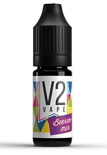 V2 Vape Beerenmix AROMA / KONZENTRAT hochdosiertes Premium Lebensmittel-Aroma zum selber mischen von E-Liquid / Liquid-Base für E-Zigarette und E-Shisha 50ml 0mg nikotinfrei