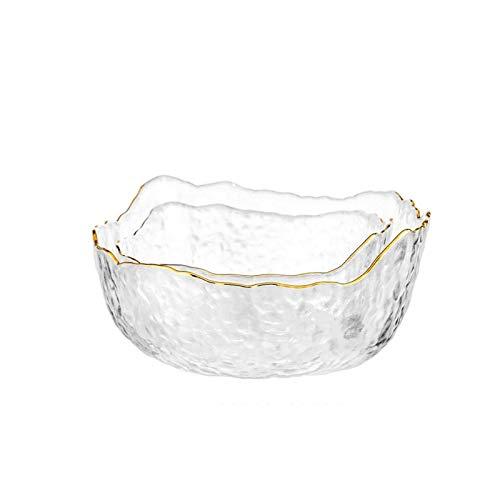 Hanpiyigw Bol, Las ensaladas de vidrio de gran capacidad son adecuadas para la mayoría de las personas.Tres tamaños, tazones de fideos duraderos.Sara Bowl.Suministros de restaurantes.Cuenco de arroz f