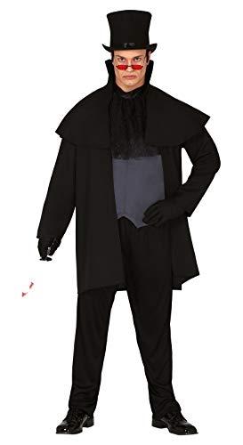 FIESTAS GUIRCA Disfraz Jack el destripador Asesino de la era Victoriana