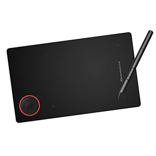 Aibecy Tableta gráfica de 5,2 x 3,5 pulgadas, tableta gráfica con lápiz sin batería, compatible con PC, Windows Android OTG, para dibujar, curso de enseñanza en línea