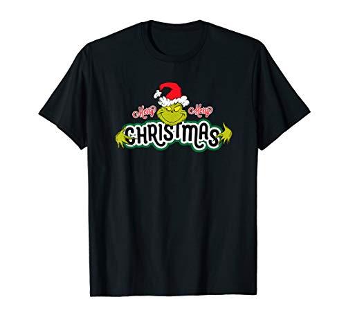 Dr. Seuss Grinch Hugs Christmas T-shirt