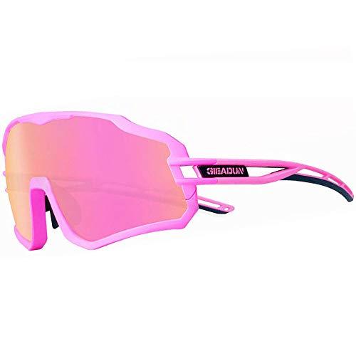 Gafas De Sol Polarizadas para Ciclismo con 3 Lentes Intercambiables UV400 Y...