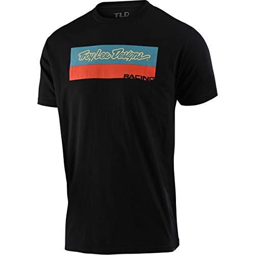 Troy Lee Designs Racing Block Fade T-Shirt Medium Schwarz 701815013