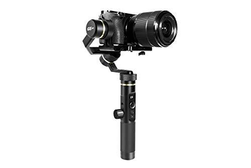 FeiyuTech G6-Plus Stabilisateur universel pour appareil photo, caméscope, caméra d'action et smartphone (accessoires inclus)