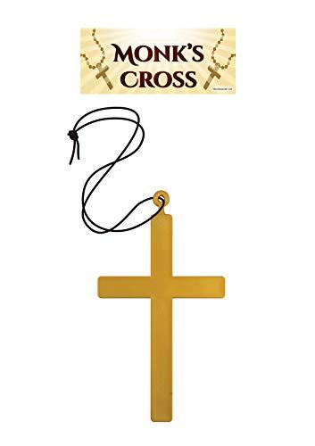 Gold Monk Cross (Accessoire de Costume)