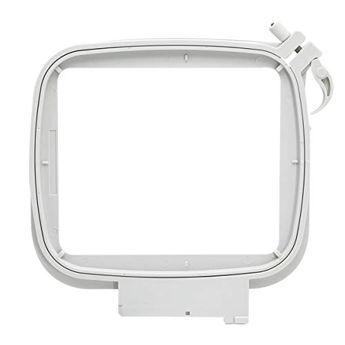 Sew Tech Embroidery Hoop for Husqvarna Viking Designer Diamond Deluxe Ruby Royale Topaz Pfaff Creative Sensation Vision etc, Sewing Embroidery Machine Splendid Square 4.7x4.7 inch (120x120 mm) Hoops