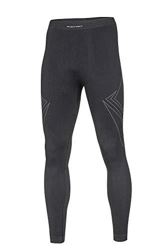 BodyDry 'Caleçon X de Shock sous-vêtement Fonctionnel de sous-vêtement de Ski Thermiques – Ski – pour Ski Snowboard Roue – sous-Vêtement Moto – sous-vêtements Thermiques XXL Noir - Noir
