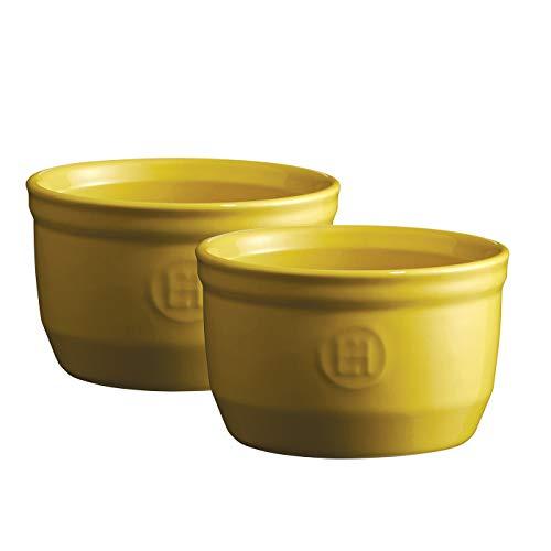 Emile Henry Auflaufförmchen aus Keramik, 240 ml, 2 Stück