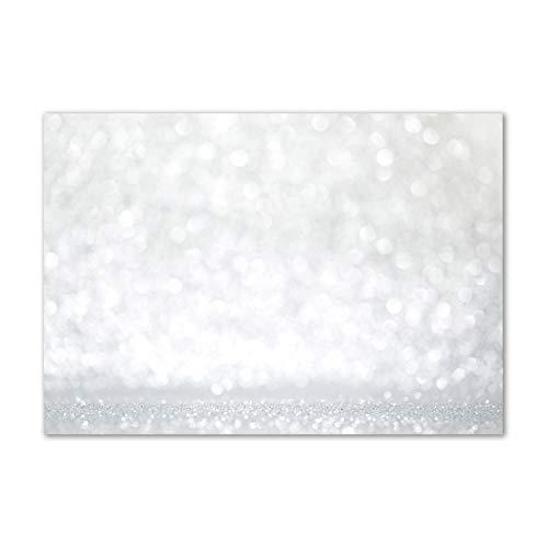 Tulup Acrylglas - Wandkunst - Bild auf Plexiglas Deko Wandbild hinter Kunststoff/Acrylglas Bild - Dekorative Wand für Küche & Wohnzimmer 100 x70 cm - Kunst: modern & klassisch - Tand - Silber