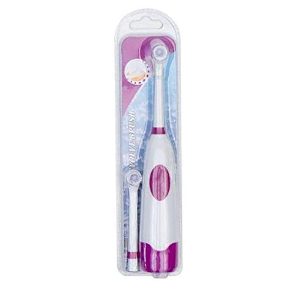 バランスのとれた価格見捨てる1セット電動歯ブラシ付き2ブラシヘッド電池式口腔衛生子供用充電式歯ブラシなし,C
