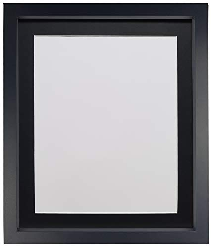 Frames By Post Rio fotolijst met passe-partout, 18 mm breed, zwart