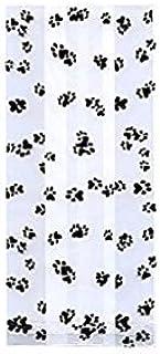 1 X (20) 4 X 2 X 9 Animal PAW PRINT Cello Bag Birthday Shower Goodie Treat by Premium Quality Gift Wrap Paper