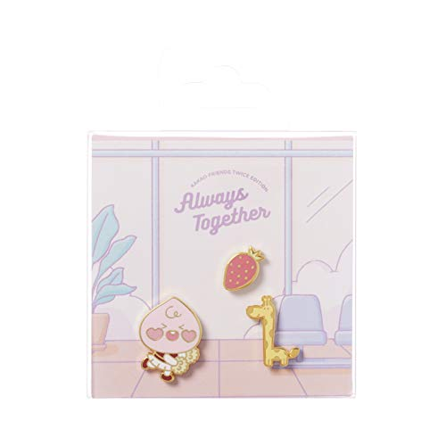 KAKAO FRIENDS Official- TWICE EDITION Pin badge Set