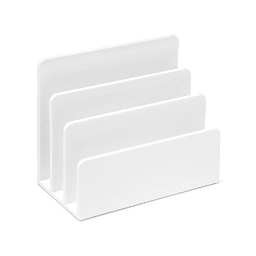 Osco brievenbus van kunststof - Parent wit