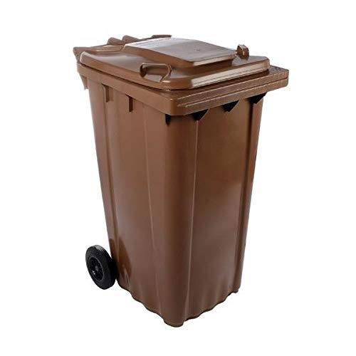 SSI Contenedor Basura 240 litros Color marrón