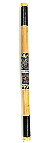 Regenmacher Rainstick 100 cm aus Bambus Musik Instrument Rainmaker