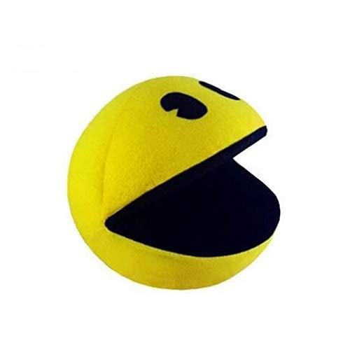 FENGK Juguetes de Peluche 14cm Linda muñeca de Peluche Amarillo Sonriente Cara expresión de la Cara Pacman Peluche Juguete para niños cumpleaños