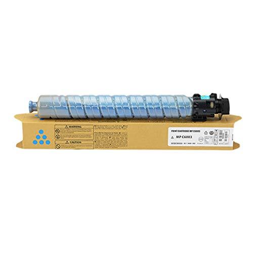 Cartucho de tóner compatible para impresora láser Ricoh MP C4503, C5503, C6503, C4504, C6003, C6004, C6004SP, color azul