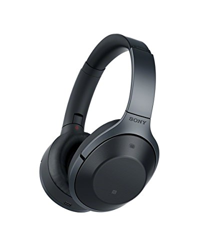Sony MDR-1000X Noise Cancelling, Bluetooth Headphone, Black (International Version with Full Warranty)