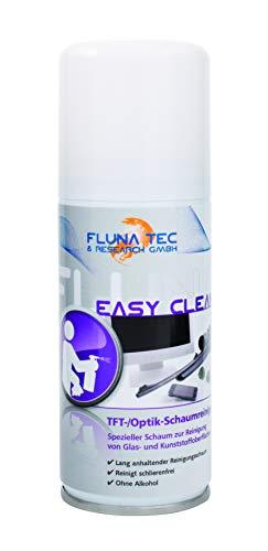 Fluna Tec & Research GmbH TFT-Optik Schaumreiniger, Bildschirmreiniger Waffenpflege, transparent, 100 ml