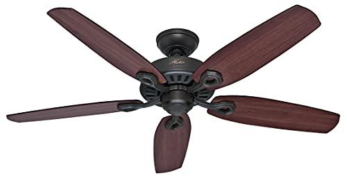 Hunter Fan 50567 Builder Elite Nouveau Ventilateur de plafond 132cm Bronze