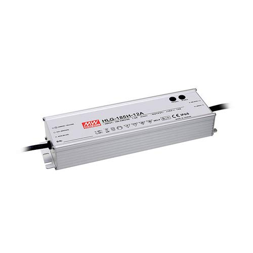 Mean Well HLG-185H-24A AC-DC Single Output-LED-Treiber, Mix Mode mit PFC