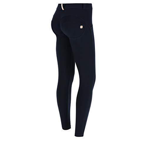 Freddy Damen Skinny Trousers Leggings, Blue, M