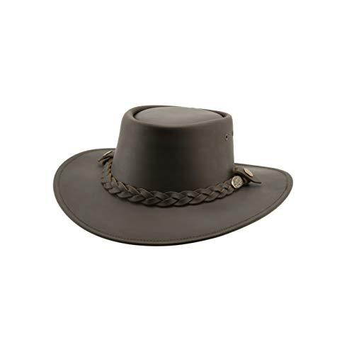 Black Jungle Sorrento lederen hoed Westernhoed van het beste leder