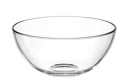Leonardo Cucina Schale, 2,1 l, Durchmesser 21,5 cm, mikrowellengeeignet, Klarglas, 066327