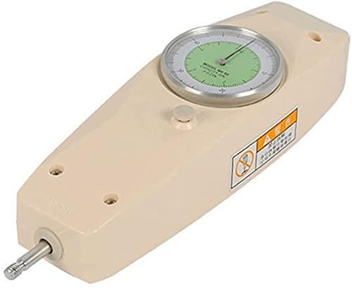 LXNQG Dinamómetro Digital Puntero Fuerza Gauge NK-10,50,100,200,300,500n, dinamómetro Push-Tensión electrónica Tensión Tensión Fuerza de Presión Hoja de Prueba Mano GRIPTHENER (Color: Rango 2N