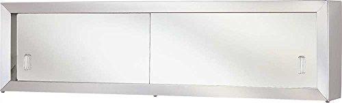 National Brand Alternative 591078 Aluminum Cosmetic Box Mirror Door, 24″