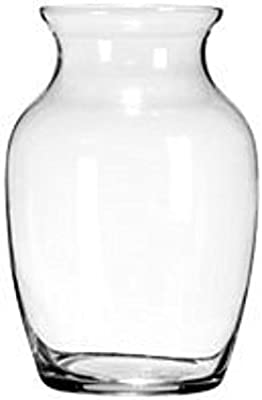 Jardin Clear Glass Flower Vases 7 Tall Wholesale Set Of 6 Home Kitchen