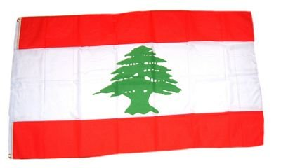 Fahne / Flagge Libanon NEU 90 x 150 cm Flaggen Fahnen