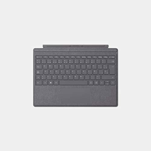 Microsoft Surface Pro Type Cover - Funda con teclado en español, gris (para Surface Pro)