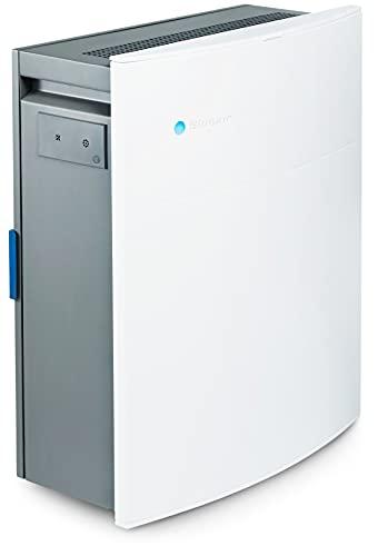 Blueair Classic 280i Luftreiniger mit SmokeStop-Filter ideal bis 26 m² (HEPASilent entfernt 99,97% Pollen, Staub, Viren, Bakterien, Gerüche, Rauch, Tierhaare, etc) sehr leise, WLAN
