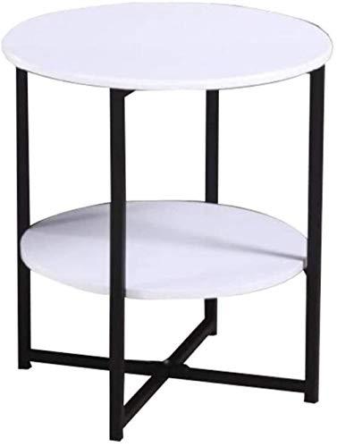 Nachttisch, Couchtisch, schlicht, quadratisch, abnehmbar, Massivholz, Sofa, Beistelltisch, Nachttisch, faule Beistelltisch (Farbe: Weiß)