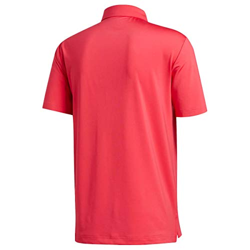 adidas Golf Mens Ultimate365 2.0 Crestable Polo Shirt - Power Pink - L