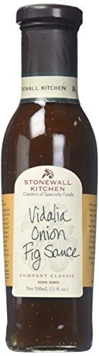 Stonewall Kitchen Vidalia Onion Fig Sauce, 11 Ounces