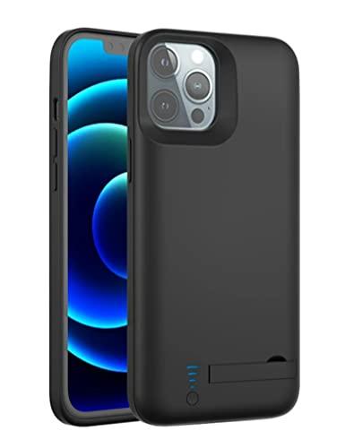 "Funda de Batería para iPhone 12 Pro Max, 5000mAh Recargable de Batería de Respaldo Extendida Cargador de Energía Funda Protectora Compatible con iPhone 12 Pro Max 5G (6.7"") Portátil Funda de Carga"