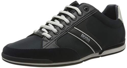 Hugo Boss Men's Modern Sneaker, Dark Blue405, 8.5