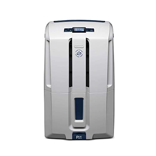 De'Longhi DDX50PE Deshumidificador, color Blanco, Medium