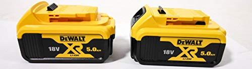 Dewalt DCB184-XJ XR Batería de Iones de Litio 5Ah, 18V, 20 cm x 20 cm x 20 cm, Paquete de 2