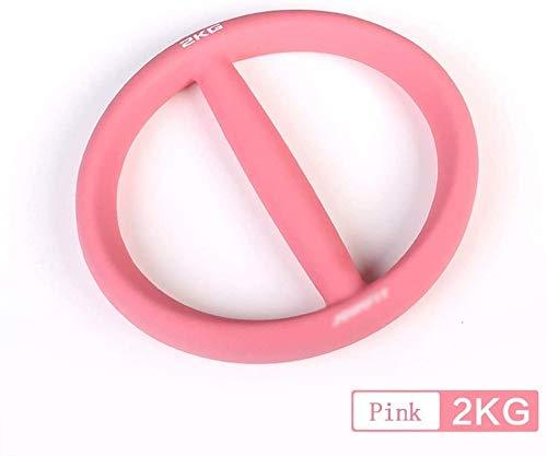 Hanteln Fitness Haushalt Kettlebell Übung Arm Ring Hantel Männliche Und Weibliche Hanteln Dip Kunststoff Kleine Hantel,Pink-2kg